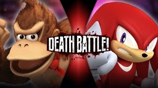 Repeat youtube video Donkey Kong VS Knuckles | DEATH BATTLE!