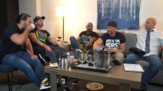 Wrestlers On The Road Ordering Room Service w/SCU