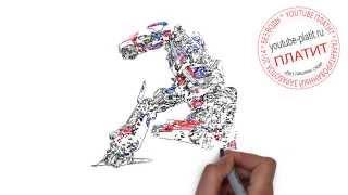 Видео как нарисовать трансформера карандашом  Учимся рисовать трансформеров(ТРАНСФОРМЕРЫ. Как правильно нарисовать траснформера поэтапно. На самом деле легко http://youtu.be/3588YwtiF_M Однако..., 2014-09-06T11:13:43.000Z)