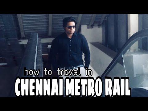 HOW TO TRAVEL IN CHENNAI METRO RAIL | NandhaKrish