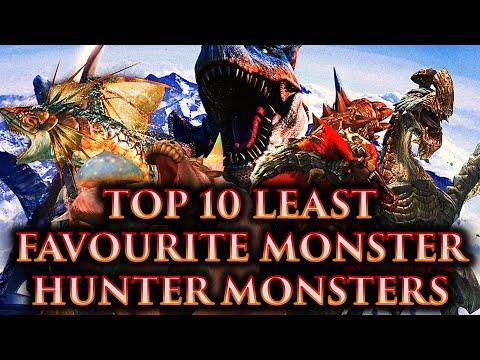 CRASHX500'S Top 10 Least Favourite Monster Hunter Monsters