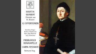 24 Offertoria solennia: No. 23. Benedicam Dominum