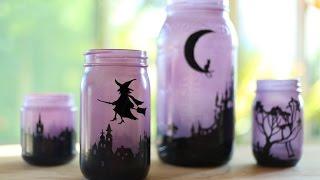 How To Make Halloween Lanterns!