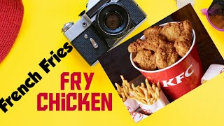 KFC Style Fry Chicken & Fries For Dinner | Simple Recipe By Its Dwight Cooking Show
