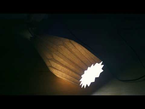 How to make a paper lampshade (DIY), 종이갓 만들기