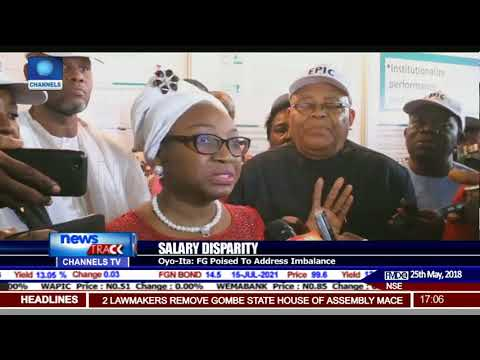 Over 80,000 Civil Servants Affected By Poor Salary Structure - Oyo-Ita