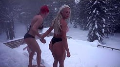 EN VANLIG SÖNDAG I NORRLAND | Bastu med tävling i snöbad 😅