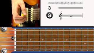 04 - electric tuning 3rd string (g note)