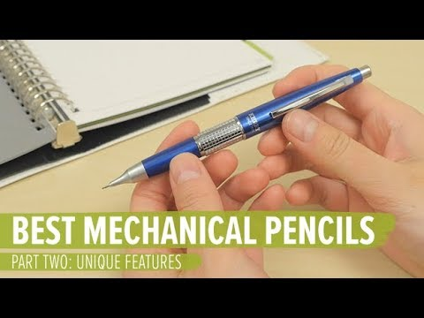 The Best Mechanical Pencils Part 2: Unique Features