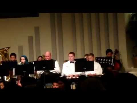 Kenneth Kow at Apple Valley Christian School's X'mas Concert 12/12/2014