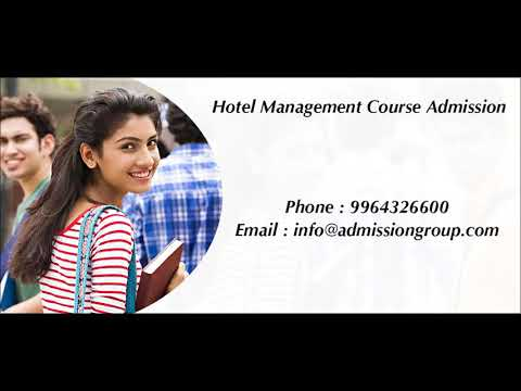 Hotel Management Course admission - 9964326600
