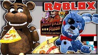 ESCAPE FNAF OBBY! INSIDE FREDDY! - Roblox Five Nights at Freddy's