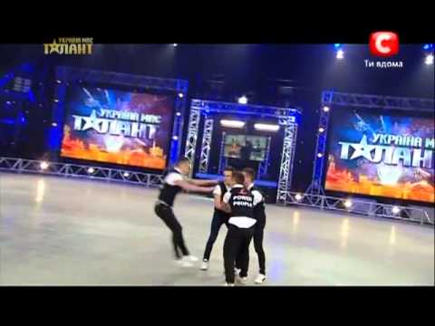 Украина мае талант 5. - Коллектив Fantastic  Four 13.04.13 Киев