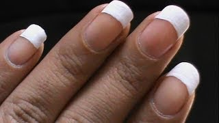 5 Ways to do French Tip: DIY Easy How to Do French Manicure
