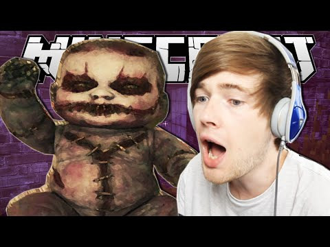 Minecraft | SUPER CREEPY BABY!! | The Prison Custom Horror Map