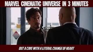 marvel cinematic universe in 3 min||Recap rap