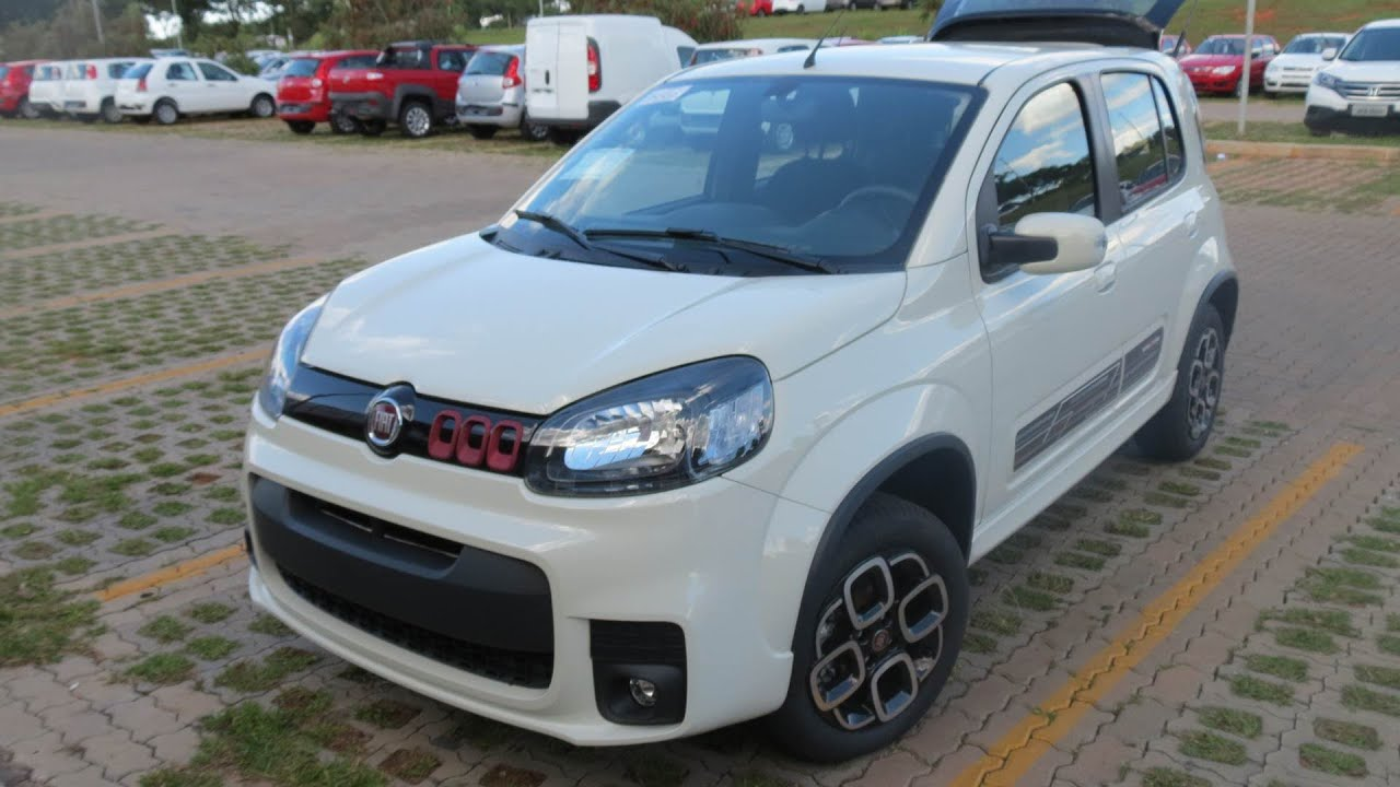 Fiat uno autom tico 1 4 dualogic test drive e impress es www car blog br youtube