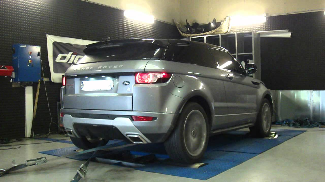reprogrammation moteur range rover evoque sd4 190cv 215cv dyno digiservices youtube. Black Bedroom Furniture Sets. Home Design Ideas