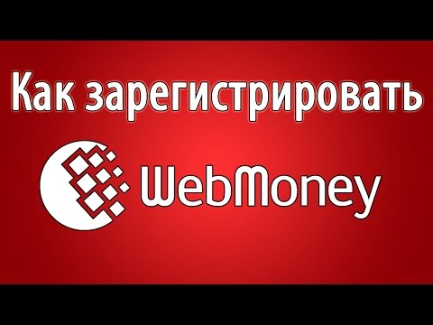 Регистрация вебмани. Новая инструкция по регистрации Webmoney