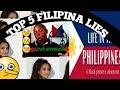 TOP 5 FILIPINA LIES - REVEALED