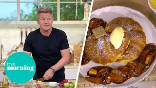 Gordan Ramsay's 10 Minute French Toast with Butterscotch Apples | This Morning
