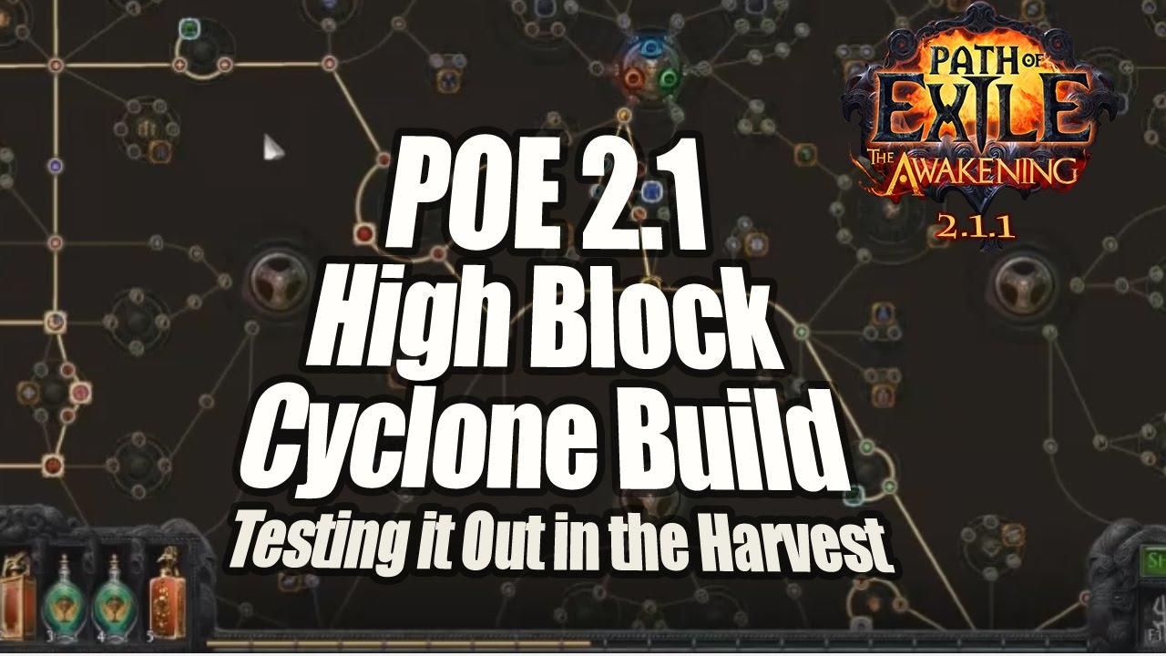Cyclone Poe Build
