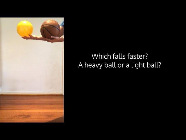 Falling Objects - FLEET Centre Home Science