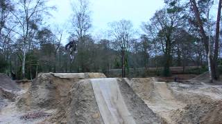 Lymington Dirt Jump Session - Sending it on a Saturday