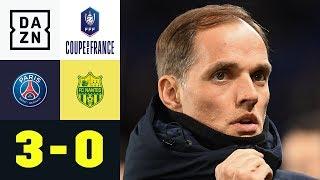 Thomas Tuchel und Co. souverän im Finale: Paris Saint-Germain - Nantes 3:0 | Coupe de France | DAZN
