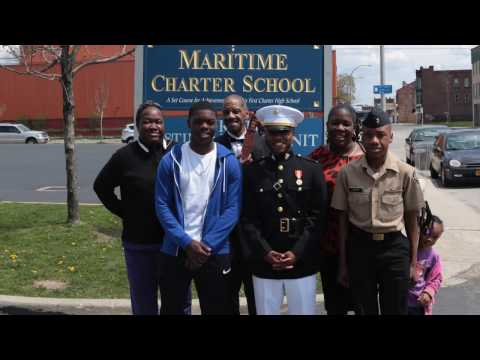 Buffalo native, Tuskegee Grad earns commission as Marine Officer