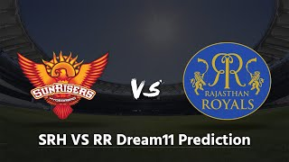 SRH VS RR Dream11 Prediction | IPL2019