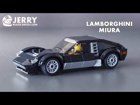 LEGO Lamborghini Miura instructions (MOC #48)