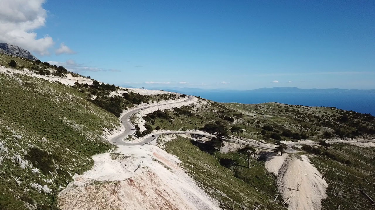 Llogara pass Albania