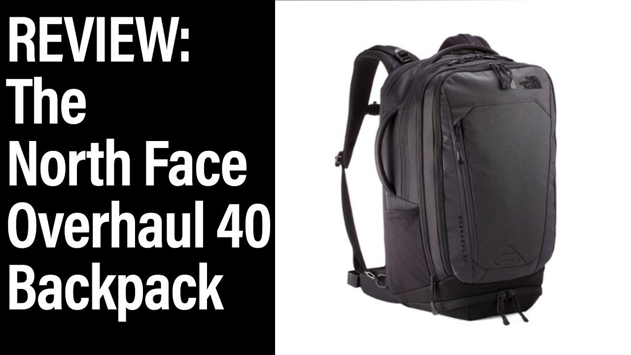 The North Face Overhaul 40 - Big Travel Backpack - YouTube 63df0a3be4742
