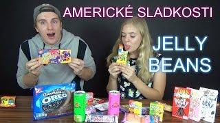 Americké sladkosti a JELLY BEANS challenge /LEA