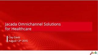 Webinar -  Omnichannel Customer Experience in Healthcare