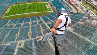 Rope Swing Zipline - NFL Stadium thumbnail