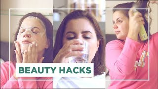 SEGRETI DI BELLEZZA per prepararsi in fretta // beauty tips #ad