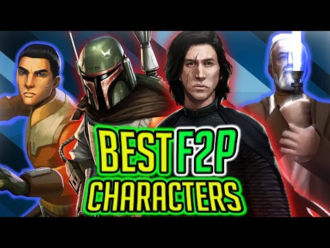 Top 15 Best Free To Play Characters 2018! No Legendary Or Raid Reward! | Star Wars: Galaxy Of Heroes