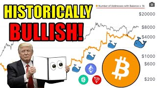 When Bitcoin Drops I Will Buy! Bitcoin Whales Have Been In HEAVY ACCUMULATION For Over 2 Years! ?