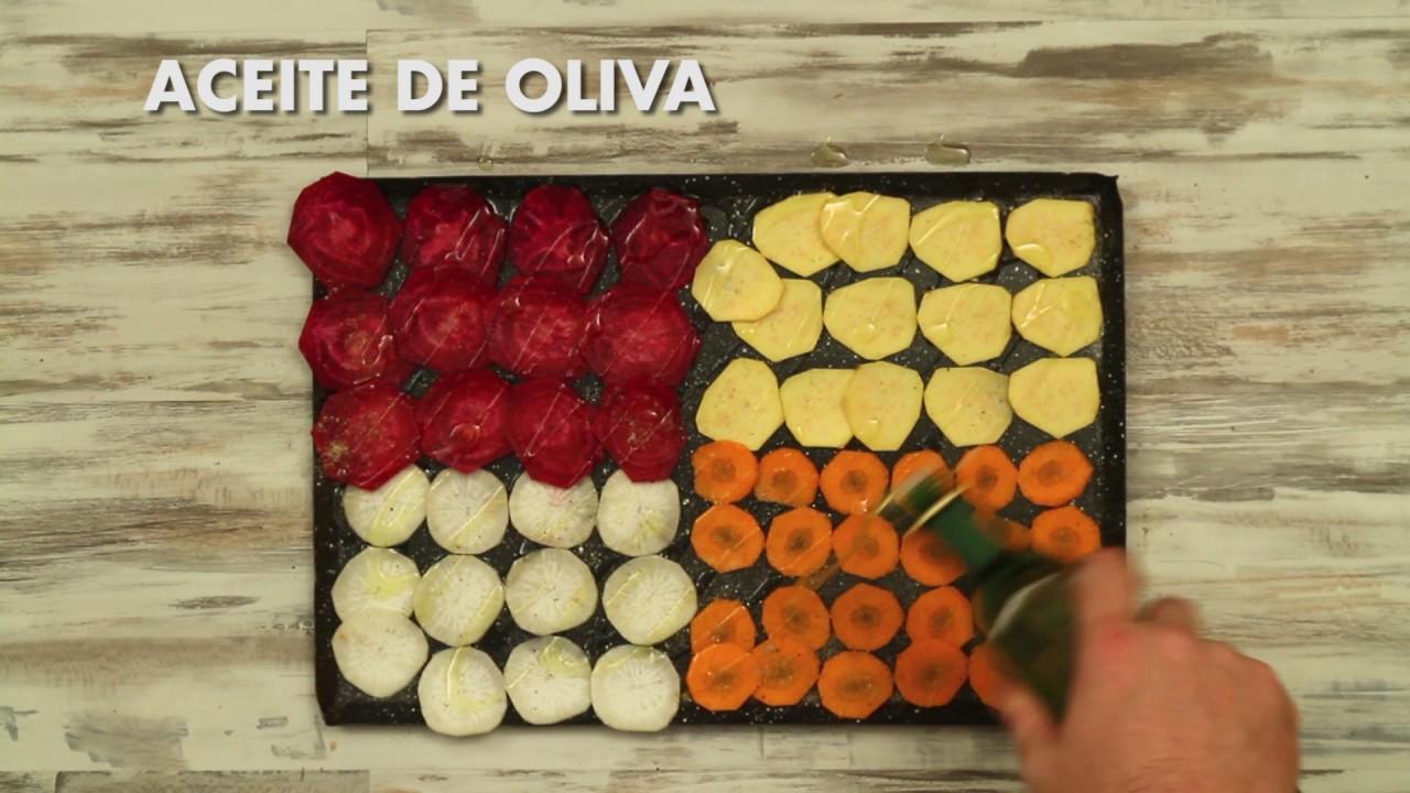 Prepará Chips De Vegetales En Pocos Pasos Y Sumalos A Tu Picada Youtube