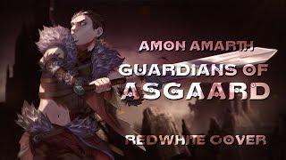 Скачать RedWhite Guardians Of Asgaard Amon Amarth Cover