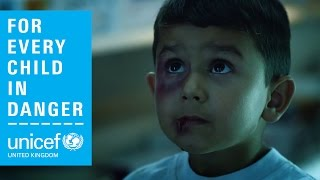 The world is a dangerous place for children. act now: http://www.unicef.org.uk/violence across world, children are facing an epidemic of violence. in war...
