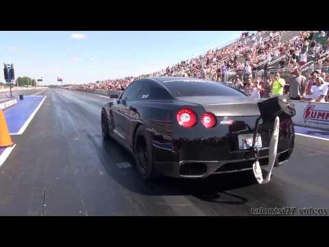 AMS GTR Alpha Omega 2000hp wheelie test passes