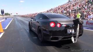 AMS GTR Alpha Omega 2000hp wheelie test passes