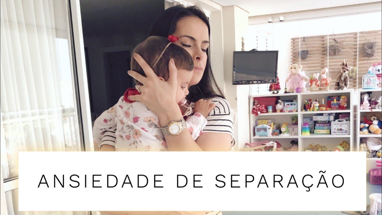 ansiedade de separação bebe 8 meses