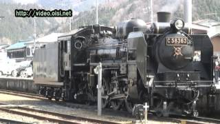 蒸気機関車 SL C58 秩父鉄道03