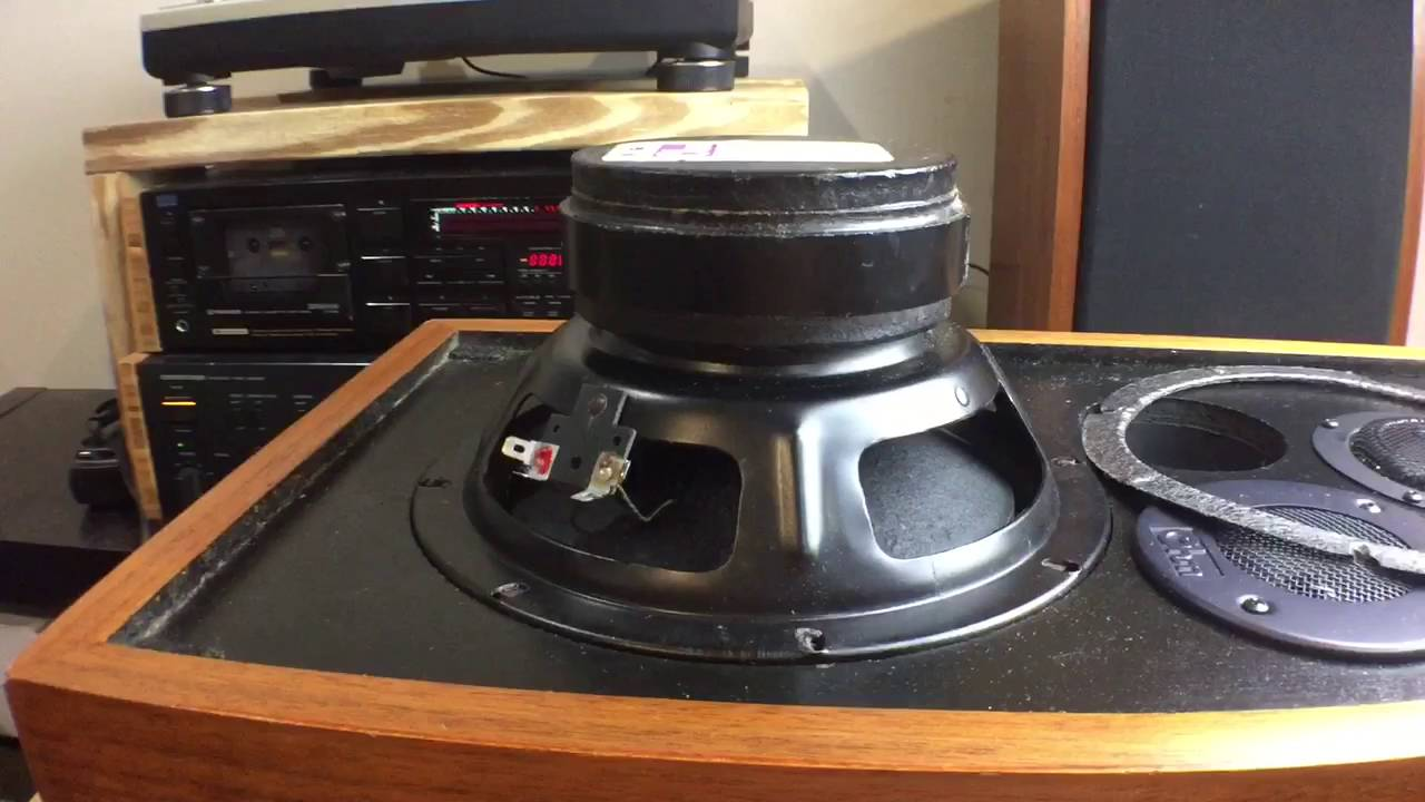 REPAIR: OHM Accustics Speaker Model-L Simple Woofer Repair Spider ...
