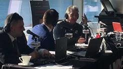 Joe talks with the owner of Ocean Resort Bruce Deifik