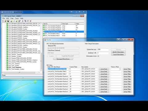 使用Kepware ClientAce讀取和寫入PLC記憶體位置值| Second Chen's Blog